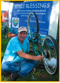 Bicycle Blessing | Donations for the Needy