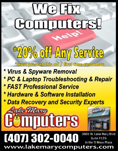 Computer Repair in Lake Mary