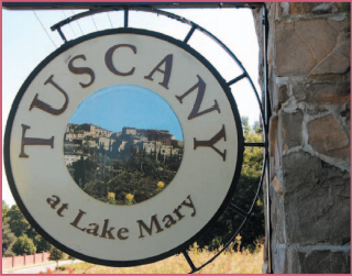 Tuscany at Lake Mary