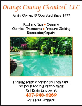 Orange County Chemical | Pool Cleaning in Central Florida